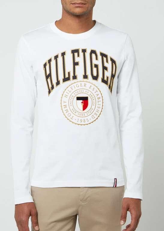 Tommy Hilfiger Longsleeve aus Bio-Baumwolle in Weiß für 29,99€inkl. Versand (statt 46€) - S und M!