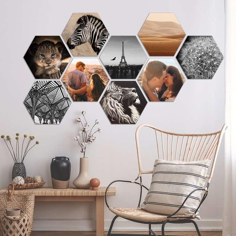 Lieblingsfoto: 75% Rabatt auf MuchoPix (Hexagon, Squares, Rauten und Circles)