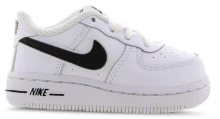 "Nike Air Force 1 Baby Sneaker im ""White-Black""-Colourway für 26,99€ inkl. Versand (statt 50€)"