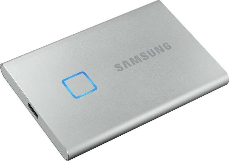 Samsung Portable SSD T7 Touch mit 2TB für 225,90€ inkl. Versand (statt 285€)