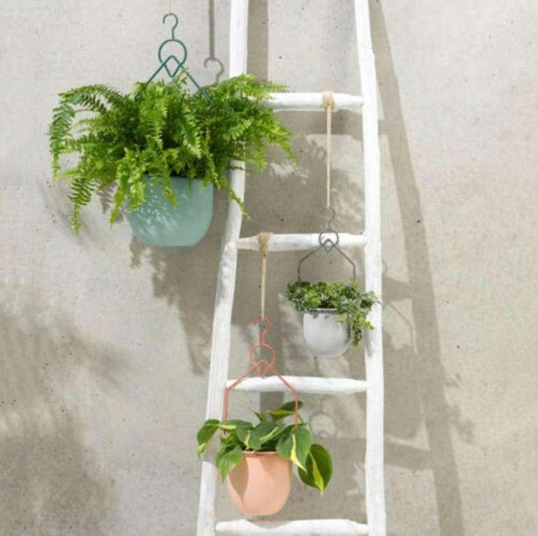 3-tlg. Pflanztopf-Set zum Hängen (Metall, bunt) für 29,99€ inkl. Versand (statt 49€)