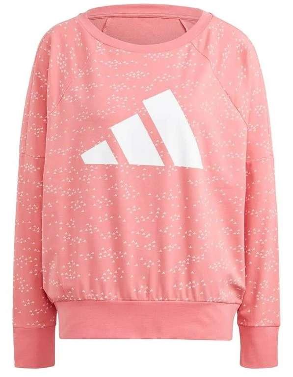Adidas Performance Bos Sportsweatshirt in Altrosa für 23,94€ inkl. Versand (statt 33€)
