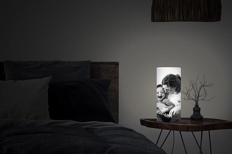 Lieblingsfoto.de Foto auf Lampe 2