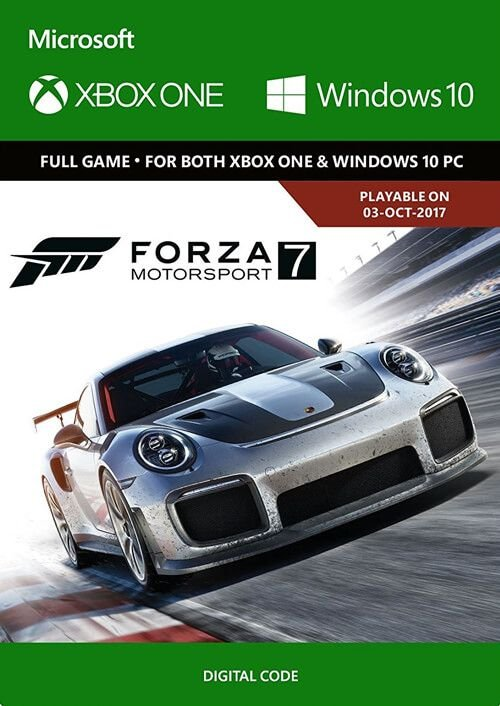 Forza Motorsport 7 in der Play Anywhere Edition (Xbox One, PC) ab 15,38€