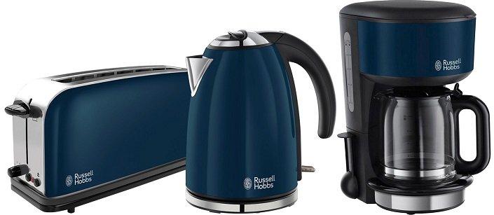 Russell Hobbs Colours Frühstücksset (Kocher + Toaster + Kaffeem.) für 79,99€