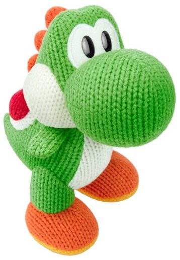Woll-Yoshi grün - amiibo Yoshi's Woolly World für 8€ inkl. Versand (statt 16€)