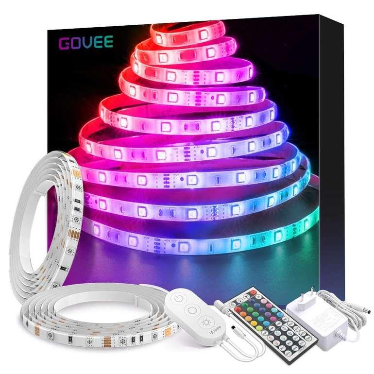 10m Govee RGB LED Strip Kit mit Fernbedienung für 25,19€ inkl. Versand