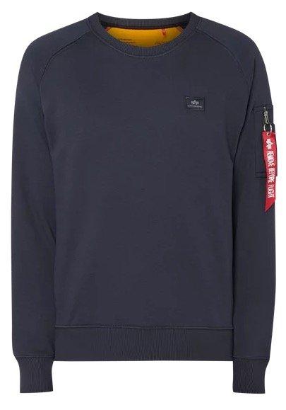 Alpha Industries Sweatshirt in navy für 38,17€ (statt 44€)