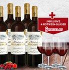8 Flaschen Château Brugayrole Rotwein + 4 Spiegelau Gläser für 39,90€