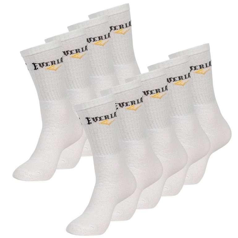 Everlast Unisex 9er-Pack Sport Socken in weiß für 10,61€ inkl. Versand (statt 13€)