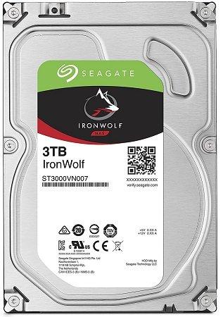 Seagate IronWolf 3 TB ST3000VN007 Interne Festplatte für 77€ (statt 86€)
