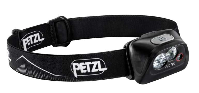Petzl Actik LED-Leuchte in Schwarz für 23,99€ inkl. Versand (statt 31€)