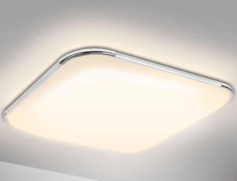 Verschiedene Hengda LED Deckenleuchten mit bis zu 50% Rabatt, z.B. Leute 24W für 13,49€ (statt 27€)
