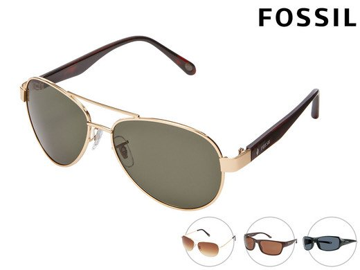 """Fossil Sonnenbrille """"Aviator"""" und """"Wrap"""" für 23,90€ inkl. Versand (statt 40€)"""