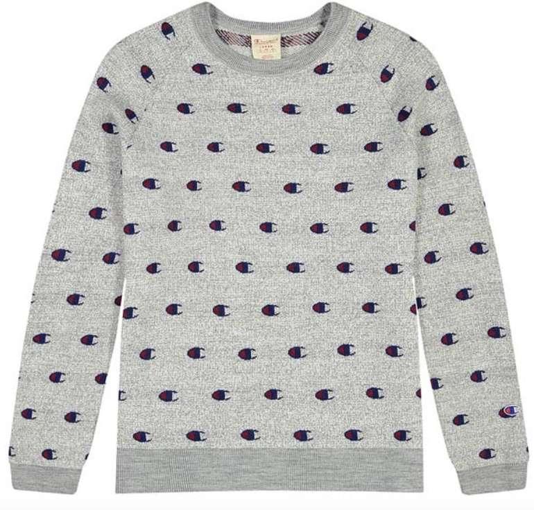"Champion Reverse Weave Pullover ""All Over C Logo Sweater"" (versch. Farben) ab 45€ inkl. Versand (statt 96€)"
