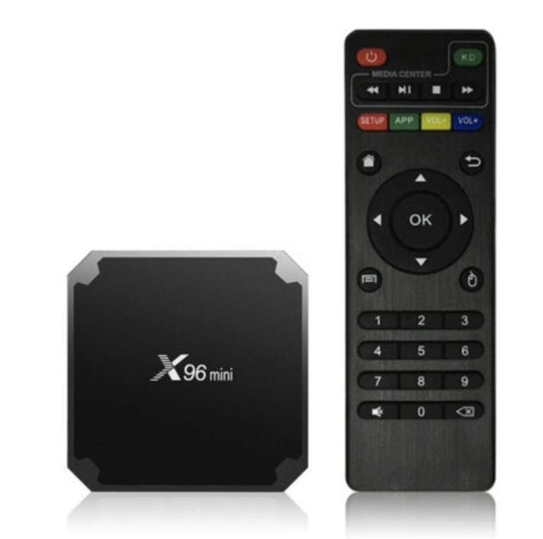 X96 Mini Android 7.1.2 TV Box mit Fernbedienung für 21,45€ inkl. Versand