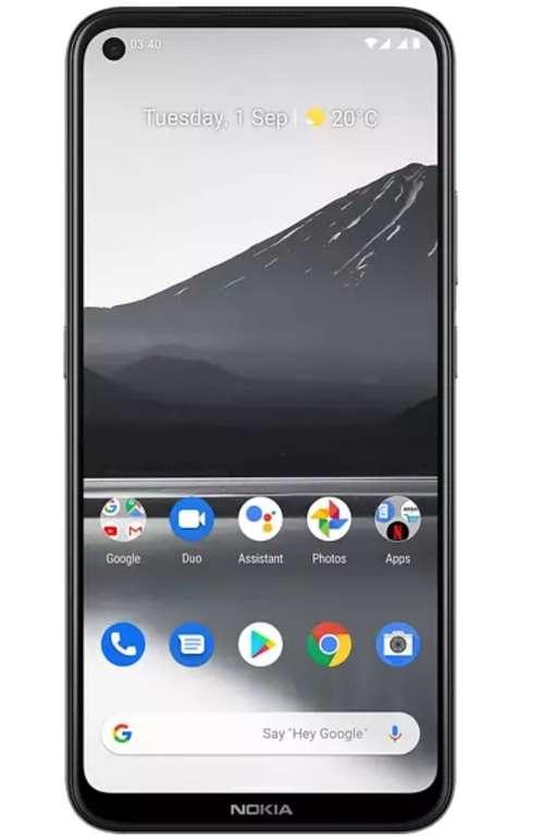 """Nokia 3.4 - 6,39"""" Dual SIM Smartphone (3GB RAM, 64GB Speicher, Android 10) für 119€ (statt 136€) - Newsletter!"""