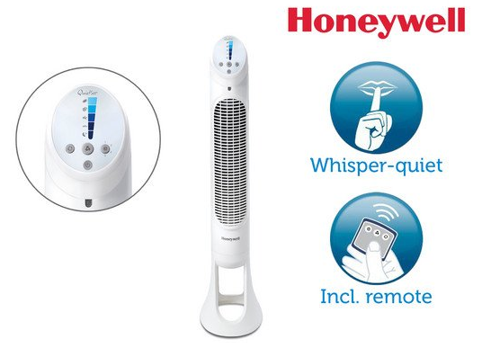 Honeywell HYF260E4 Quiet-Set Turmventilator für 65,90€ (statt 76€)