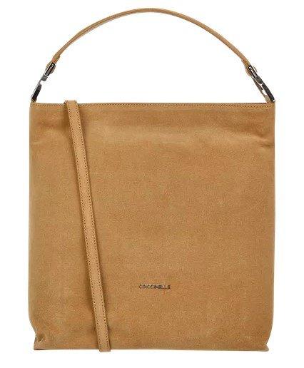 Coccinelle Hobo Bag aus Veloursleder in Camel für 139,99€ inkl. Versand (statt 197€)