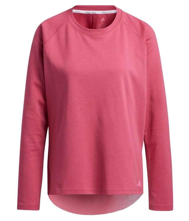 Adidas Performance Damen Sportsweatshirt in Pitaya für 28,04€ inkl. Versand (statt 36€)