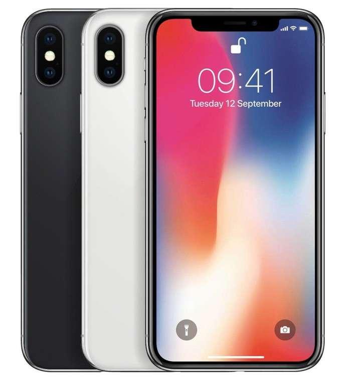 Apple iPhone X mit 256GB Speicher für 555€ inkl. Versand (Refurbished)