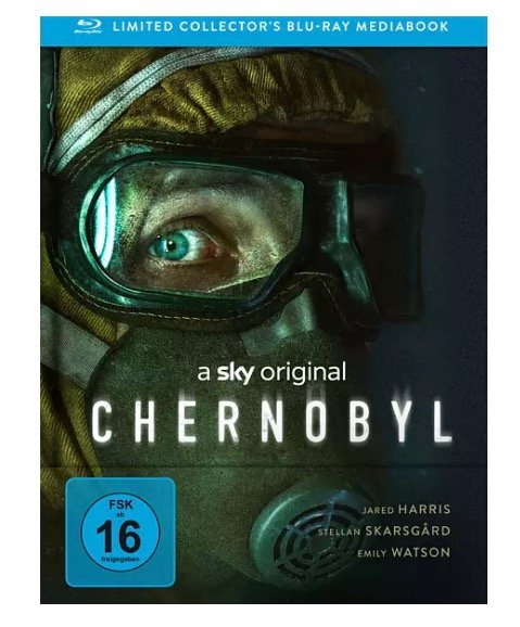 Chernobyl Limited Mediabook Edition Blu-ray für 16,50€ (statt 19€) - Abholung!