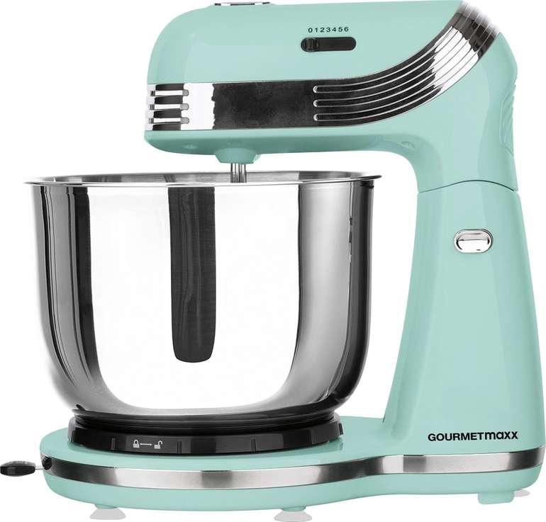 GOURMETmaxx Küchenmaschine Retro in mint (250W) für 32,98€ (statt 43€)
