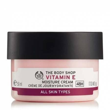 20% Rabatt auf alles nicht reduzierte bei The Body Shop - z.B. Vitamin E Creme für 16,55€ (statt 20€)