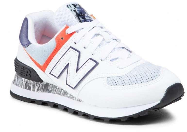eSchuhe Sale mit bis zu 50% Rabatt - z.B. New Balance WL574CS2 Sneaker für 66€ (statt 75€)