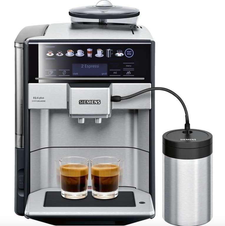 Siemens TE657F03DE Kaffeevollautomat für 699,30€ (statt 723€) + 110€ in Superpunkten
