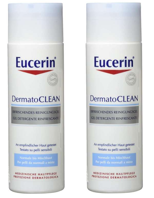 2er Pack Eucerin Dermatoclean Gel (je 200 ml) für 14,89€ inkl. Versand (statt 25€)