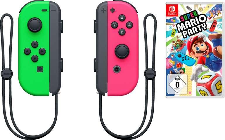 Nintendo Switch 2er Joy-Con + Super Mario Party für 104,95€ inkl. Versand (statt 123€)