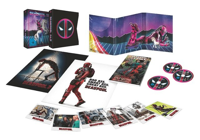 Deadpool 1+2 Ultimate Unicorn auf Blu-ray für 35€ inkl. VSK (statt 45€)