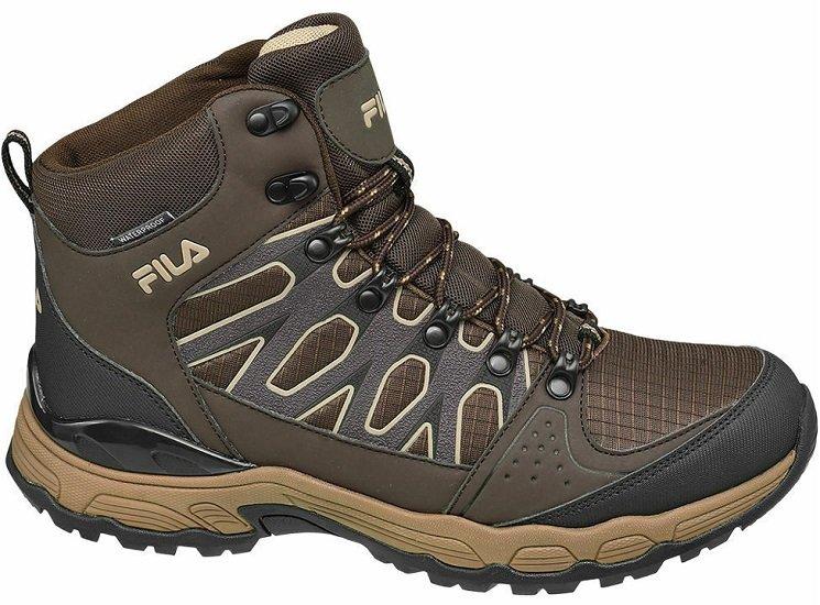Top! Fila Trekking Boots in Brau (41 - 47) für 29,95€ inkl. VSK (statt 60€)