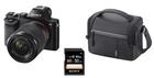 Sony Alpha 7 Kit 28-70mm Systemkamera + Tasche + 32GB SD Karte für 777€