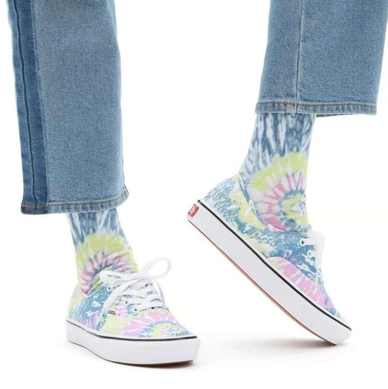 Vans Tie Dye ComfyCush Authentic Damen Schuhe für 37,50€ inkl. Versand (statt 42€)