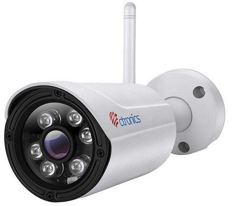 Ctronics - 720P WLAN IP Outdoor Überwachungskamera für 34,99€ inkl. VSK