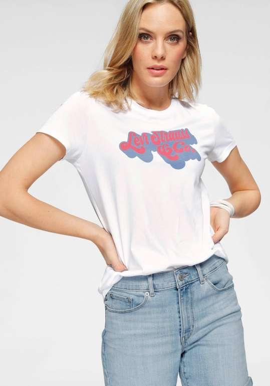 """Levi's T-Shirt """"The Perfect Tee"""" aus Baumwolle in Weiß für 11,24€ inkl. Versand (statt 16€)"""