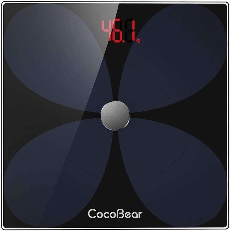 CocoBear Körperfettwage mit Bluetooth & App für 15,99€ inkl. Prime Versand (statt 26€)