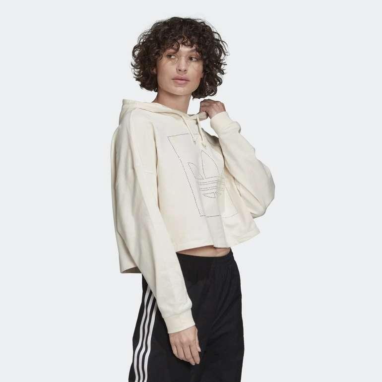 Adidas Originals Damen Cropped Hoodie für 25,98€ inkl. Versand (statt 42€)