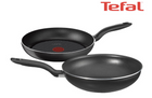 Tefal Hard Titanium Set mit 24cm Pfanne + 28cm Wok für 40,90€ (statt 54€)