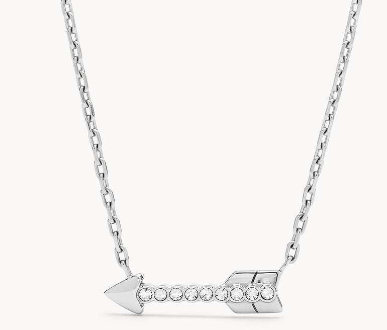 Fossil Damen Halskette Arrow Stainless Steel Necklace (JOF00489040) für 23,80€ inkl. Versand (statt 36€)