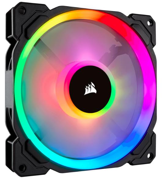 3er Pack Corsair LL120 RGB LED PWM Gehäuselüfter für 62,58€ (statt 81€)
