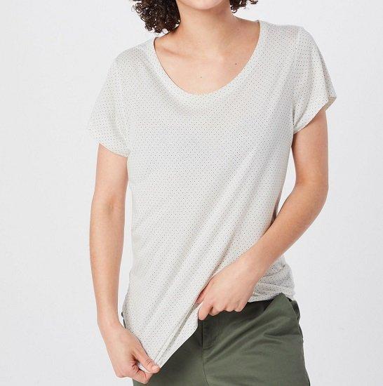 GAP Damen Shirt Offwhite für 8,42€ inkl. Versand (statt 16€)