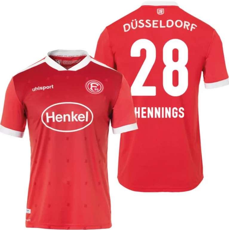 Uhlsport Fortuna Düsseldorf F95 Trikot (Heim oder Auswärts) mit Flock für 28,98€ inkl. Versand (statt 44€)
