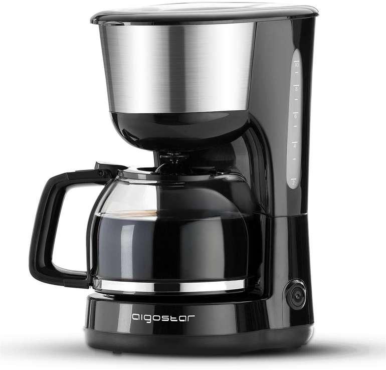 Aigostar Filterkaffeemaschine, 1000 Watt, 1,25 Liter , BPA frei für 17€ inkl. Versand (statt 24€)