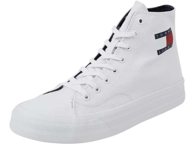 Tommy Jeans High Top Sneaker aus Textil in Weiß für 44,99€inkl. Versand (statt 59€)