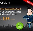 Verlängert! Telekom Crash Tarif mit 100 Freiminuten und 1GB Daten für 3,99€ mtl.