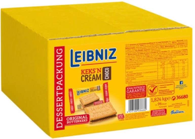 96x Leibniz Keks'n Cream in der Vorratspackung (1 x 1,824 kg) für 13,98€ inkl. Versand (statt 20€)