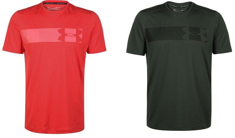 Doppelpack Under Armour HeatGear Raid 2.0 Graphic Trainings Shirts